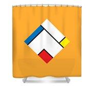 Geometric Art 307 Shower Curtain