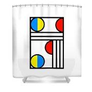 Geometric Art 429 Shower Curtain