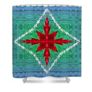 Geometric Fantasy Shower Curtain