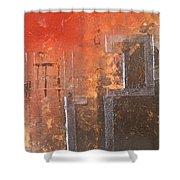 Geometric Square Shower Curtain