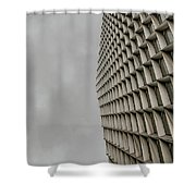 Geometry 1 Shower Curtain