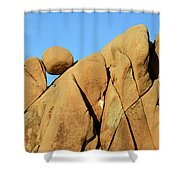 Geometry At Play Shower Curtain