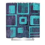Geomix 02 - Sp06c6b Shower Curtain by Variance Collections