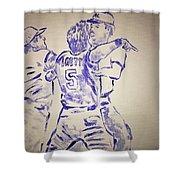George Brett Pine Tar Shower Curtain