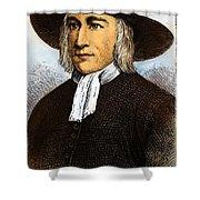 George Fox, 1624-1691 Shower Curtain