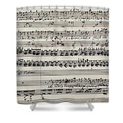 George Frederick Handel Shower Curtain
