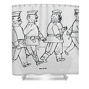 George Grosz 151 George Grosz Shower Curtain