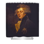 George Iv When Prince Of Wales Shower Curtain