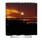 George M Steinbrenner Field Shower Curtain by David Lee Thompson