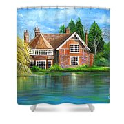George Michaels Estate In Goring,england Shower Curtain