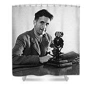 George Orwell (1903-1950) Shower Curtain