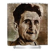 George Orwell Author Shower Curtain