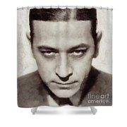 George Raft, Vintage Actor Shower Curtain