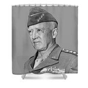 George S. Patton Shower Curtain