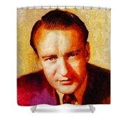 George Sanders, Vintage Hollywood Actor Shower Curtain