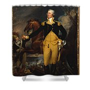 George Washington Before The Battle Shower Curtain