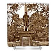George Washington, Charleston,sc Shower Curtain