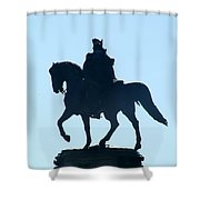 George Washington Monument Philadelphia Shower Curtain