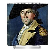 George Washington Shower Curtain by Samuel King