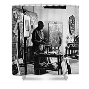 Georges Braque (1882-1963) Shower Curtain