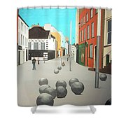 George's Street, Waterford Shower Curtain