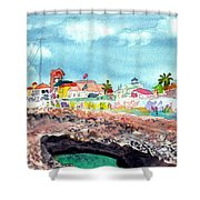 Georgetown Cayman Islands Shower Curtain