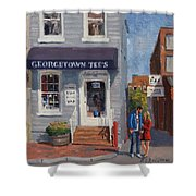Georgetown Tee's Shower Curtain