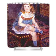 Georgette Charpentier Seated 1876 Shower Curtain