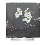 Georgia Dogwood Shower Curtain