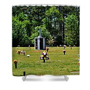 Georgia Memorial Gardens Shower Curtain