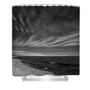 Georgian Bay Infrared Shower Curtain