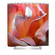 Georgias Rose Shower Curtain
