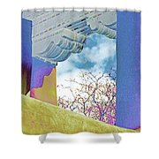 Georgias Vision Shower Curtain