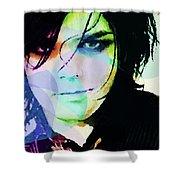 Gerard Way My Chemical Romance  Shower Curtain