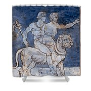 Gericault: Bacchus & Ariadne Shower Curtain