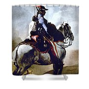Gericault: Trumpeter, 1814 Shower Curtain