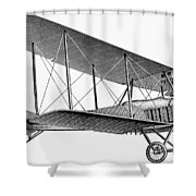 German Airplane, 1913 Shower Curtain
