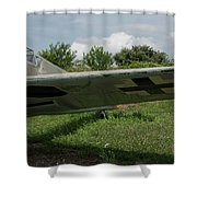 German Fighter Shower Curtain