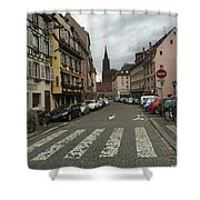 German Street Shower Curtain