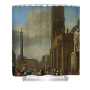Germany Holland Shower Curtain