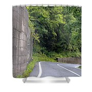 Germany Roads Shower Curtain