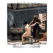 Gerome: The Bath, 1880 Shower Curtain by Granger