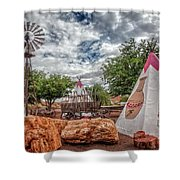 Geronimo Trading Post Shower Curtain