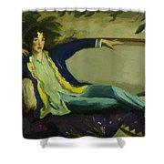 Gertrude Vanderbilt Whitney 1916 Shower Curtain