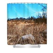 Gerttysburg Series Little Round Top Shower Curtain