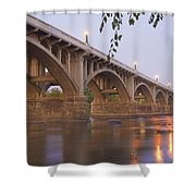 Gervais Bridge Shower Curtain