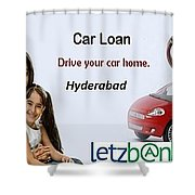 Get Car Loans In Hyderabad At Letzbank Shower Curtain