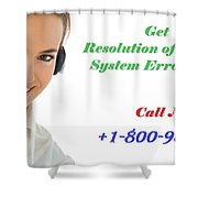 Get Expert Guidance For Windows System Error Codes Shower Curtain