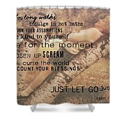 Get Perspective Quote Shower Curtain