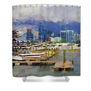 Get The Boat Shower Curtain
